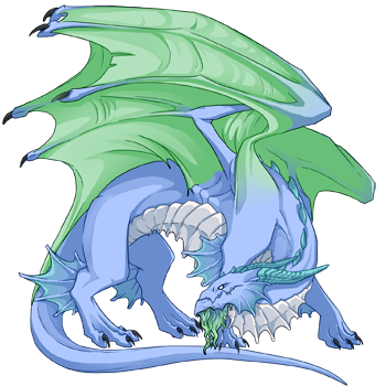 Ice Progen Lacks Name! | Dragon Share | Flight Rising
