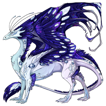 Ice dragon needs a name | Dragon Share | Flight Rising
