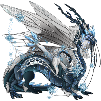 Help me name this ice god | Dragon Share | Flight Rising