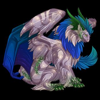 My dragon, Silvandawn