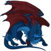Male, Azure/Maroon/Navy, AH: 10,005 T