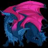 Female, Azure/Magenta/Sky, oooh aaaaah
